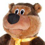 Поющий медведь Шпунтик (поет песню «За глаза твои карие»)