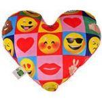 Подушка Imoji в форме сердца