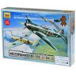 Мессер Bf-109 против Як-3