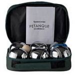 Петанк в сумке (6 шаров, хром)