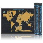 Скретч-карта мира ULTIMATE Black Edition
