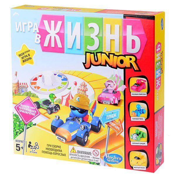 Фото - Hasbro Игра в Жизнь Junior hasbro игра в жизнь junior