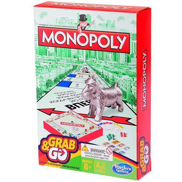 Hasbro Монополия дорожная