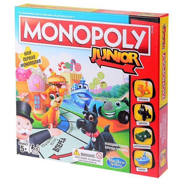Hasbro Моя первая монополия 2017