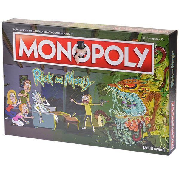 Hobby World Монополия Рик и Морти