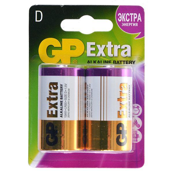GP Батарейки GP 13АX / D Extra gp батарейки gp аaa extra 4шт