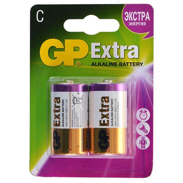 GP Батарейки GP 14АX / C Extra gp батарейки gp аaa extra 4шт