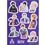 Набор стикеров «BTS»