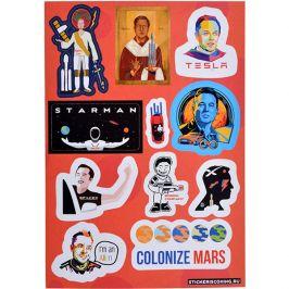 Набор стикеров «Илон Маск»