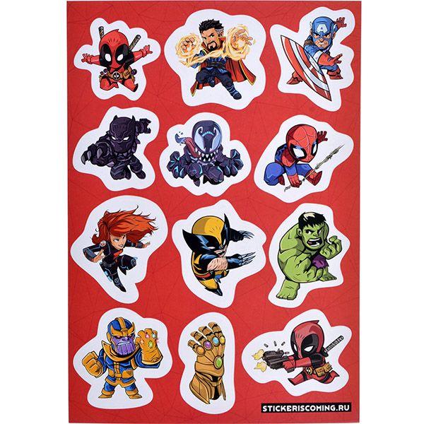 Stickeriscoming Набор стикеров «Марвел#3»