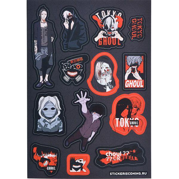 Stickeriscoming Набор стикеров «Токийский Гуль» stickeriscoming набор стикеров skam