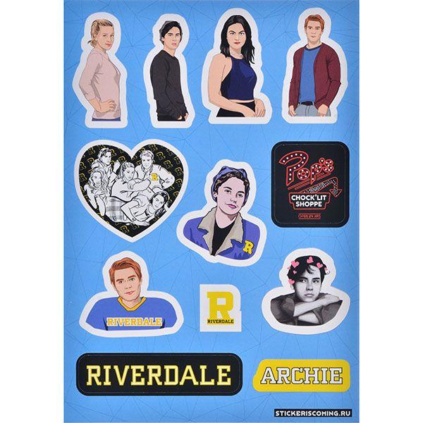 Stickeriscoming Набор стикеров «Ривердейл» stickeriscoming набор стикеров skam