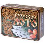 Лото Русские узоры (в коробке)