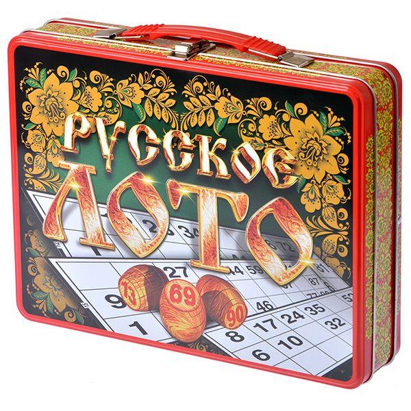 Десятое королевство Лото Русские узоры (чемоданчик) лото десятое королевство русские узоры 01776
