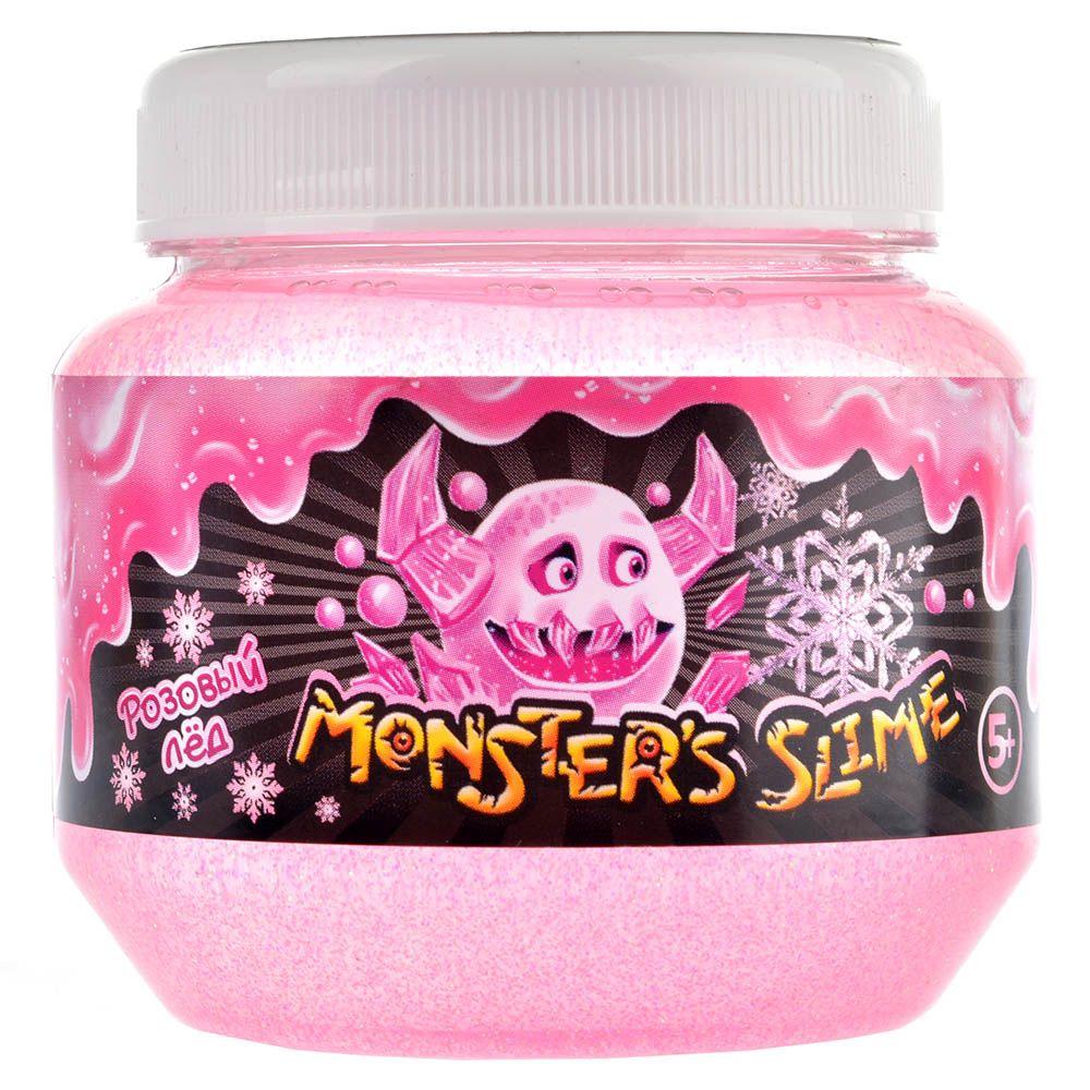 KiKi Монстер слайм большой (розовый лед)