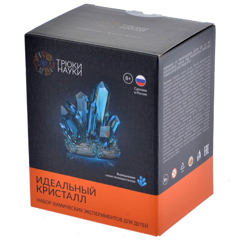 Экспериментальная наука Идеальный кристалл (синий)