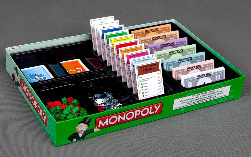 Купить настольную игру монополия - заказать онлайн