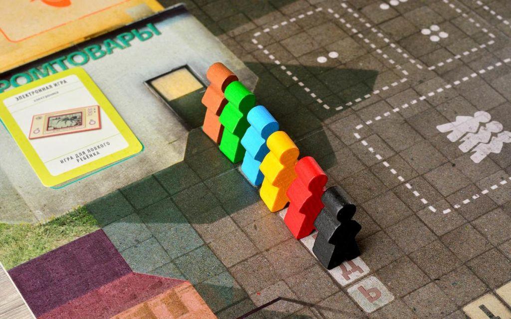 Правила игры Очередь | Купить настольную игру в магазинах Мосигра