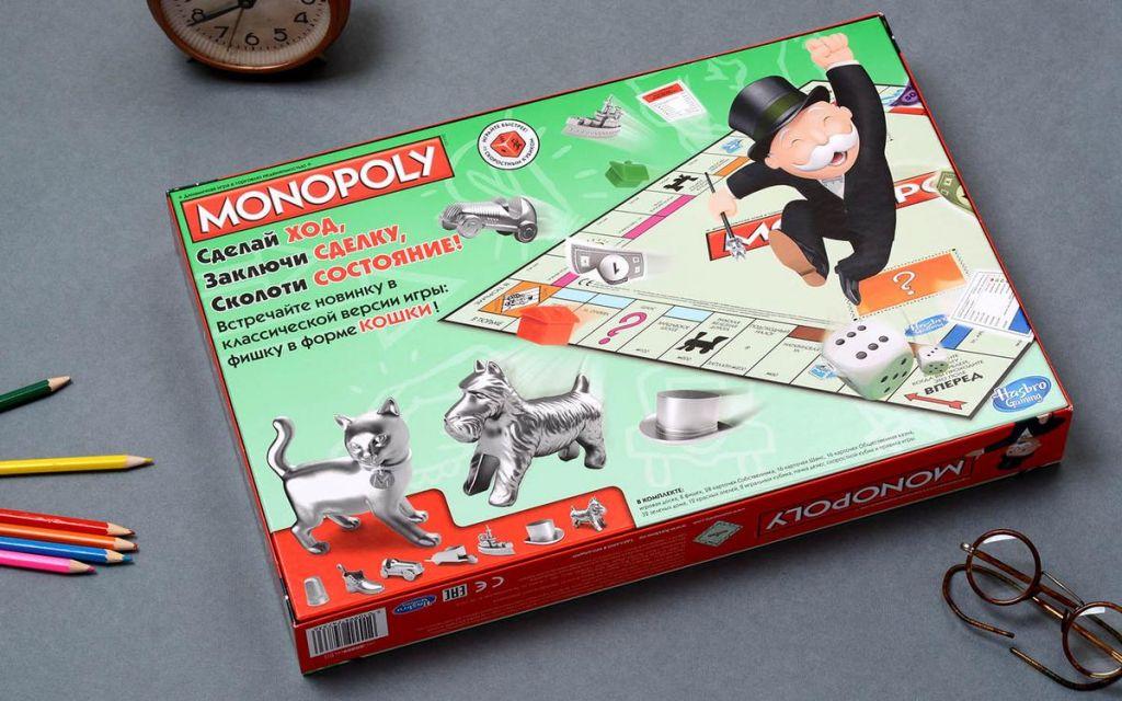 Правила игры монополия (старая версия) купить настольную игру в магазинах мосигра